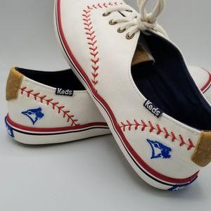 Keds Women's 8US Champion MLB® Pennant Blue Jays